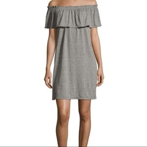 NWT Current/Elliott The Ruffle Dress Off Shoulder